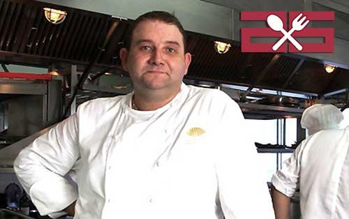 Chef Arnaud Dunand Sauthier