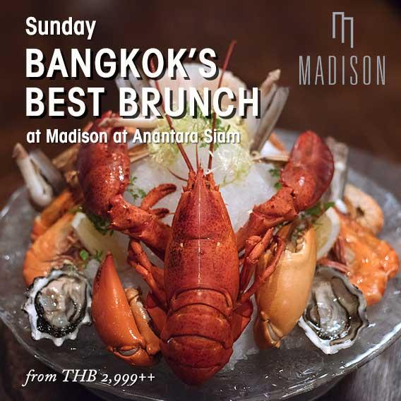 Bangkok's Best Sunday Brunch