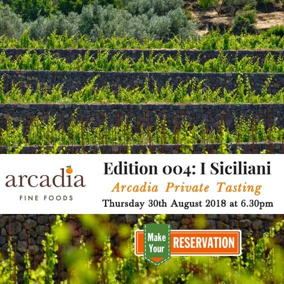 Arcadia Private Tastings - Edition 004: I Siciliani