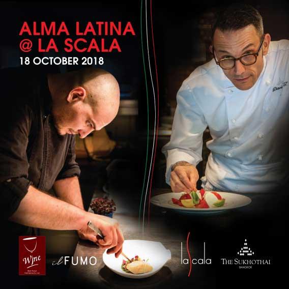 David Tamburini and La Scala Welcome Chef Nelson Amorim from Il Fumo