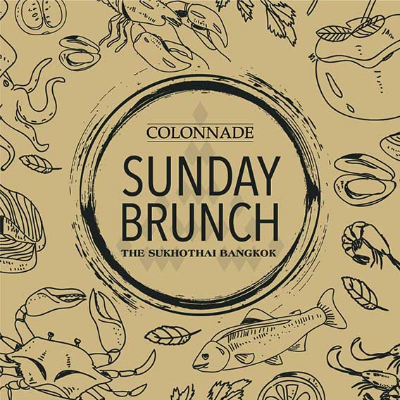 Experience The Mother of All Sunday Brunches at The Sukhothai Hotel Bangkok
