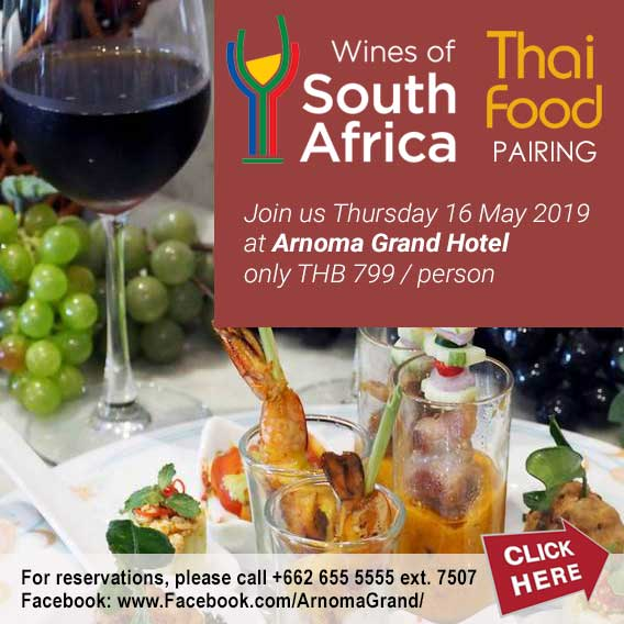 South African Wines & Thai Food Pairing