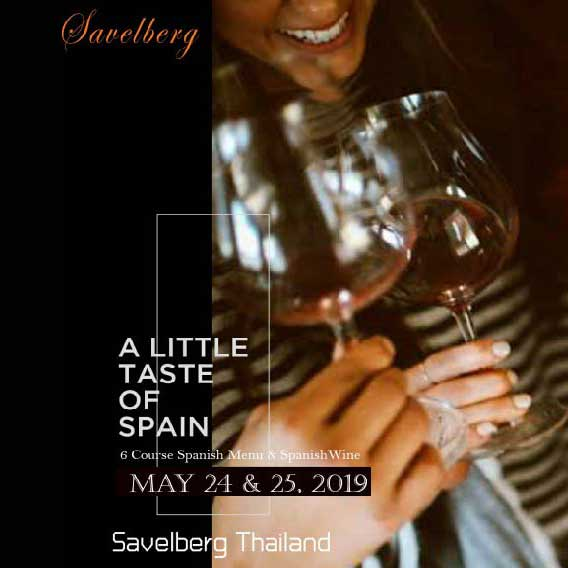 A Little Taste of Spain at Savelberg Thailand