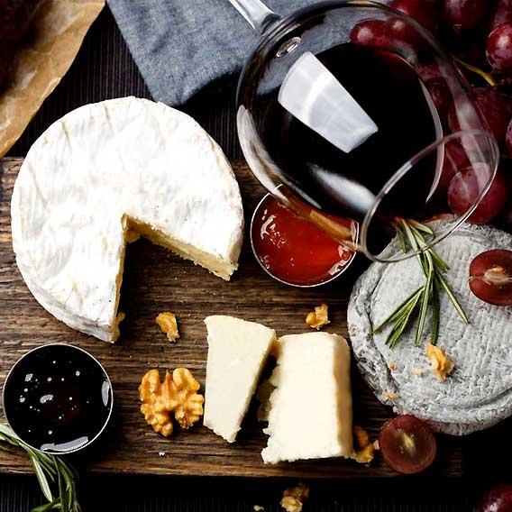 French Wine and Cheese Pairing Night at Arnoma Grand Hotel