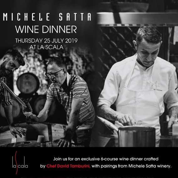 Michele Satta Wine Dinner at La Scala