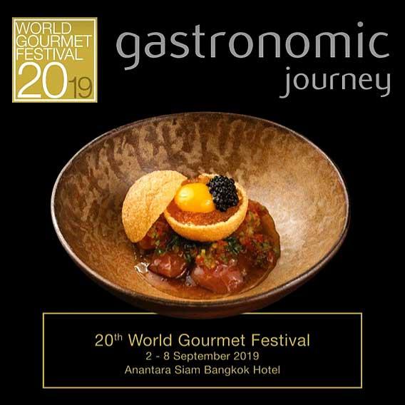 20th World Gourmet Festival 2-8 September 2019