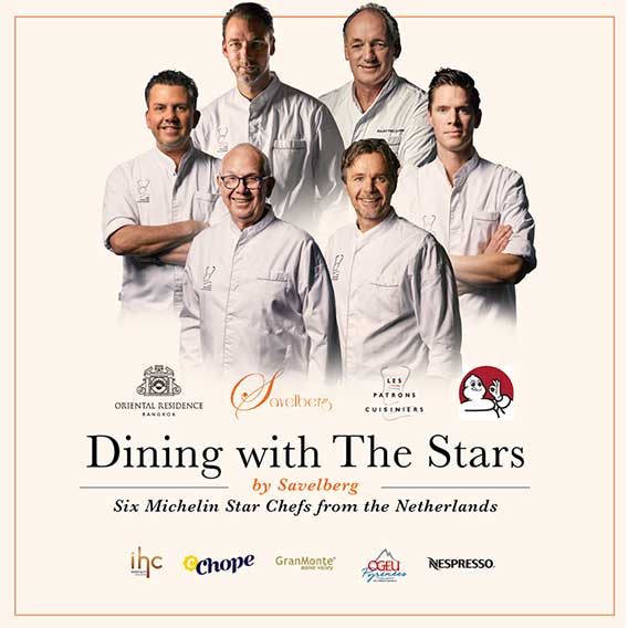 Dining with the Stars by Savelberg