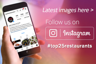 Top 25 Restaurants Follow us on Instagram Facebook Twitter
