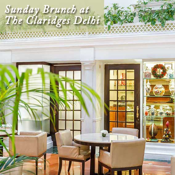 Sunday Brunch at The Claridges