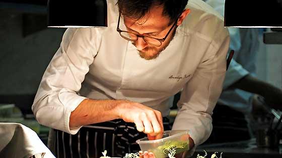 Amerigo Sesti Chef de Cuisine at J'aime by Jean-Michel Lorain