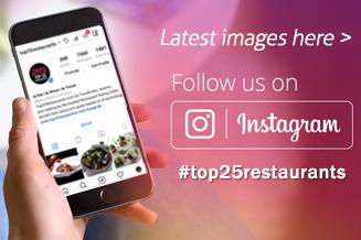 Top 25 Restaurants Follow us on Instagram Facebook Twitter