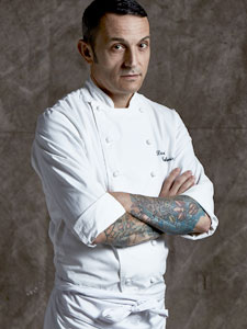 Chef David Tamburini at La Scala Restaurant Bangkok