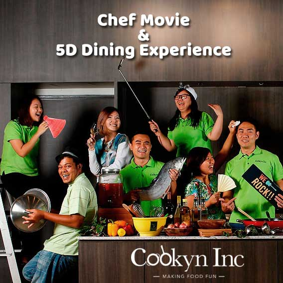 Chef Movie & 5D Dining Experience